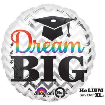 """18"""" Dream Big Grad Hx"""
