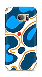 Amez designer printed 3d premium high quality back case cover for Samsung Galaxy S7 Edge (Pattern Henoch)