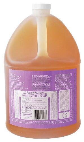 Affordable Castile Liquid Soap Lavender Dr Bronner 39 S 1 Gallon Liquid Bes