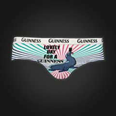 Guinness Briefs - Pink Seal