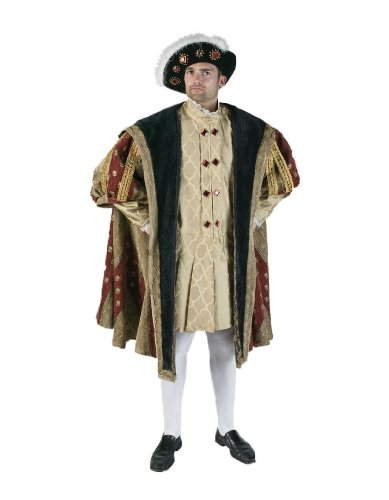 Men's 16th Century King Henry Theater Costume
