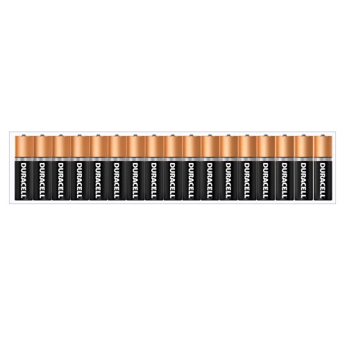 Duracell Coppertop Duralock AA Batteries 34 Count