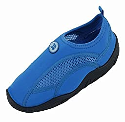 Brand New Toddlers Slip-On Athletic Blue Water Shoes / Aqua Socks Size 6