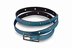 V.S Women's Belt (Vsi006-18_Blue_18)