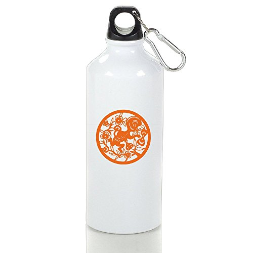 DETED Cute Seamless Chinese Zodiac Monkey Drinking Bottle Size 500ml