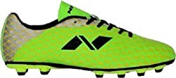 Nivia Ditmar 378 Football Shoes, Men's (Green/Silver)