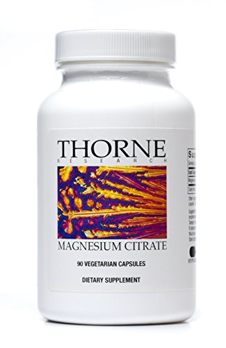 Thorne Research - Magnesium Citrate Health Supplement - 90 Vegetarian Capsules