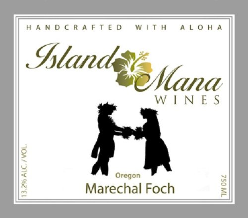 Island Mana Oregon Marechal Foch Red Wine 750Ml