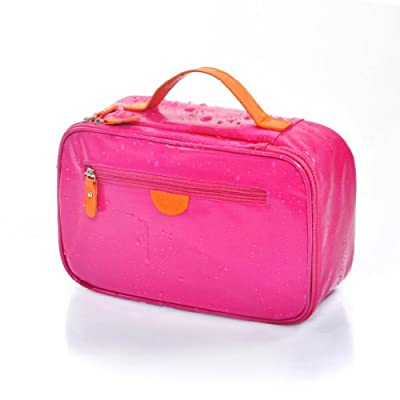 Best Cheap Deal for LYCEEM Womens Gilrs Waterproof Makeup Bag Hot Pink by Lyceem - Free 2 Day Shipping Available