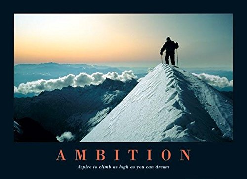 Ambition-Mountain Climber