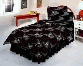 NASCAR #3 Earnhardt Sr Twin Bed in a Bag: Comforter, Sheet Set, & Bedskirt