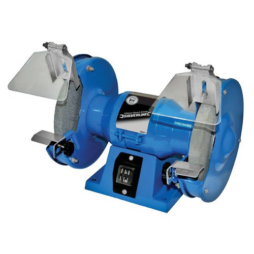 Silverline Bench Grinder 150mm 163 18 44 Delivered By Amazon