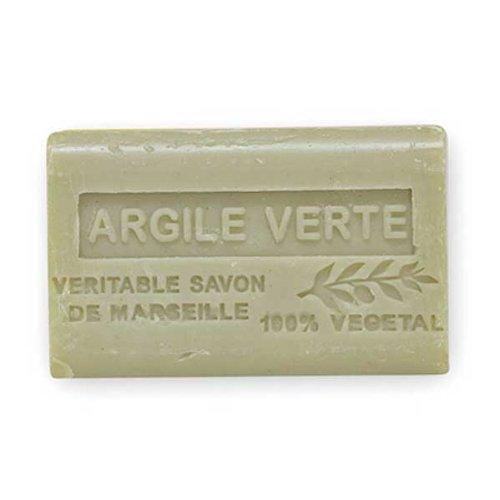 (南仏産マルセイユソープ)SAVON de Marseille グリーンクレイの香り(SP059)(125g)