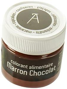 Les Artistes-Paris A-0408 Colorant Alimentaire Marron Chocolat