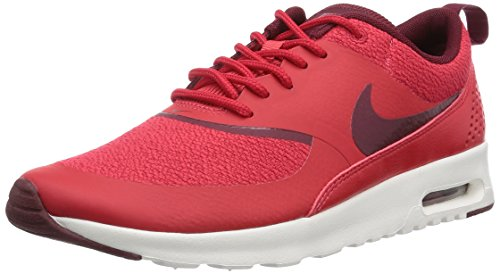 Nike Wmns Air Max Thea, Scarpe sportive, Donna, Multicolore (Action Red/Team Red/Sail), 36.5