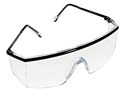 3M 1709IN Safety Spectacles with Clear Lens, Hardcoat (Pack of 1)