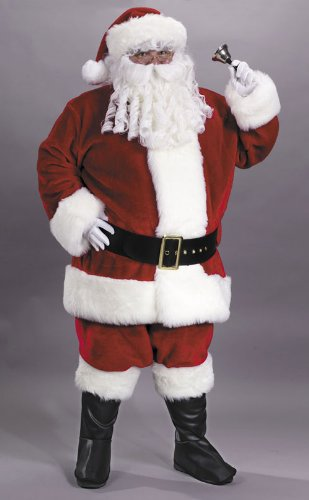 Costumes For All Occasions FW7502 Santa Suit Prem Pl Red Lrg