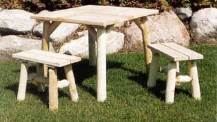 Lakeland Mills 23 inch End Bench Pair