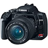 Canon Rebel XTi DSLR Camera with EF-S 18-55mm f/3.5-5.6 Lens