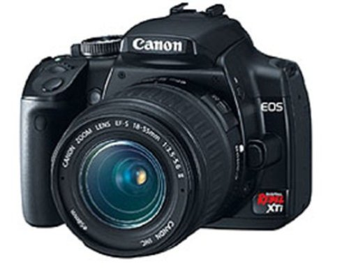 Canon EOS Digital Rebel XTi (with 18-55mm Lens) is one of the Best Point and Shoot Digital Cameras for Child and Low Light Photos Under $750