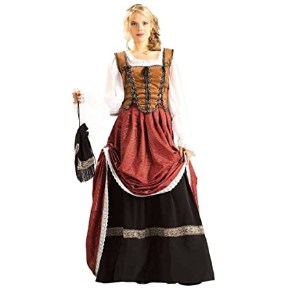 Deluxe Scottish Brigadoon Costume - Large - Dress Size 14-16