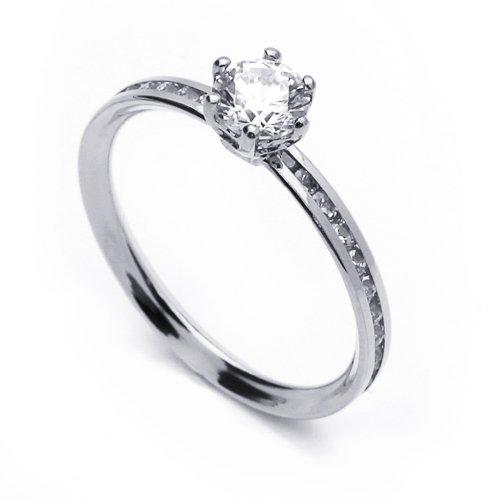 Shopping 14K White Gold 2MM Diamond Cut Wedding Bands Size 8