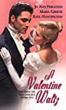 img - for A Valentine Waltz (Zebra Regency Romance) book / textbook / text book