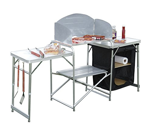 GigaTent Pack N Go Prep Station (Camping Cooking Table compare prices)