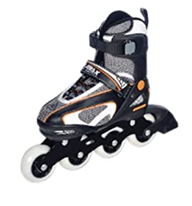 Yellow 2-in-1 Inline/Quad Skate (Adult Size 5.5-9)