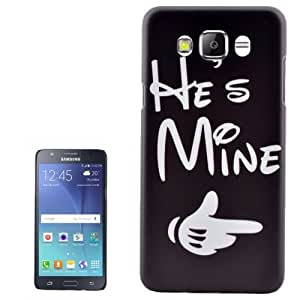 Crazy4Gadget He is Mine Pattern PC Protective Case for Samsung Galaxy J7(2016) / J710, Small Quantity Recommended before Samsung Galaxy J7(2016)