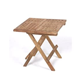 Teak Furniture Gallery TGT189 Picnic Table, Folding