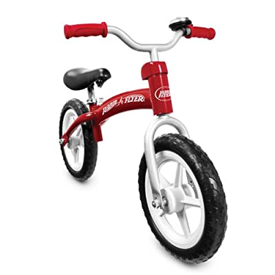 Radio Flyer Glide & Go Balance Bike Red by Radio Flyer