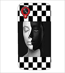PrintDhaba Faces D-4153 Back Case Cover for LG GOOGLE NEXUS 5 (Multi-Coloured)