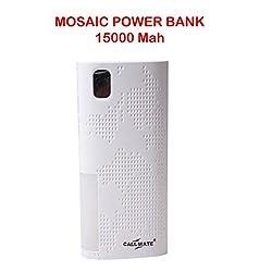 Callmate Power Bank Mosac 15000 mah - White