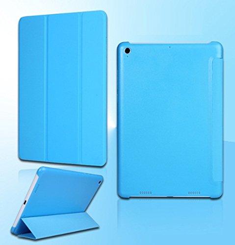 best website d9cc9 58184 ProElite (TM) Smart Trifold Flip Case cover for Xiaomi Mi Pad (Blue)  (Sleep/Wake)