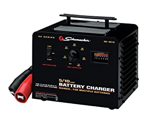 Schumacher SE-1072 5/10 Amp Multi-Battery Charger