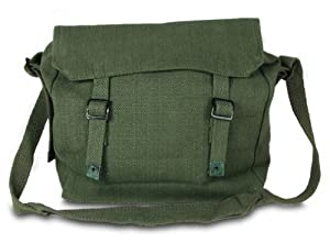 Large Military Style Messenger Bag Army Olive Haversack