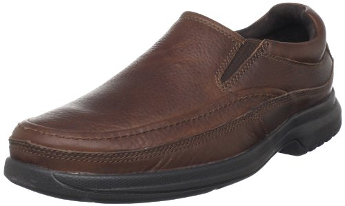 Rockport Men's BL Moc Slip-On Casual Loafer, Dark Tan, 9 M US (Rockport Shoes Men Casual compare prices)