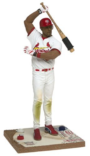 McFarlane MLB Series 10 Albert Pujols White Uniform Figure - 1