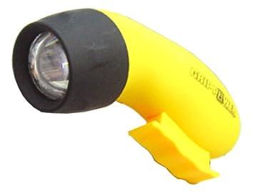 LED発電グリップライト 手動発電式懐中電灯ライト・照明2665