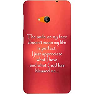 Casotec Quotes On Life Design Hard Back Case Cover for Microsoft Lumia 535