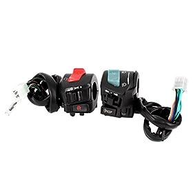 Motorbike ATV Handlebar Horn Turn Signal Headlight Electrical Switch