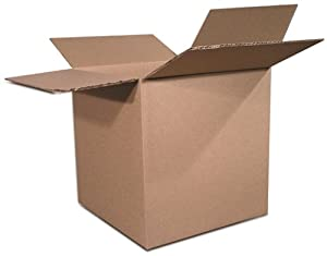 The Packaging Wholesalers 8 x 8 x 5 Inches Shipping Boxes, 25-Count (BS080805)