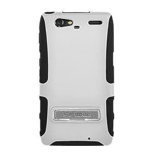 Seidio CSK3MTRMK-GL Active with Metal Kickstand Case for Motorola Droid Razr Maxx (Glossed White)