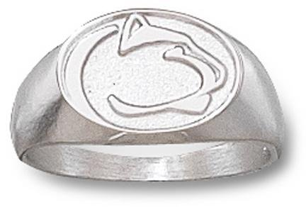 Penn State Nittany Lions Sterling Silver Lion Head Ring Size 6