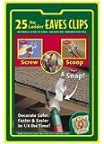 Indoor/Outdoor Eave Grip Clips Light Hooks, 25-Pack