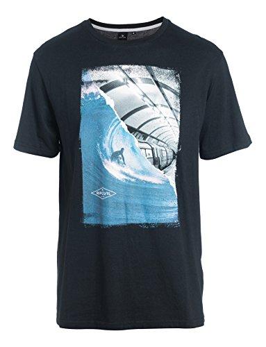 Rip Curl G/B Day Ss Tee Maglietta, Nero/Bianco, XL