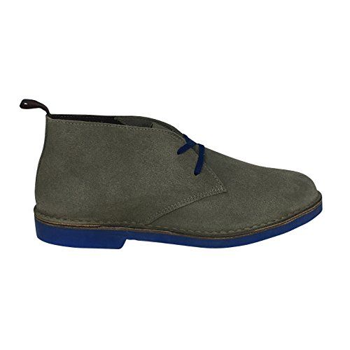 Wally Walker Uomo Chukka Stivaletti Desert, Grey, 44 EU
