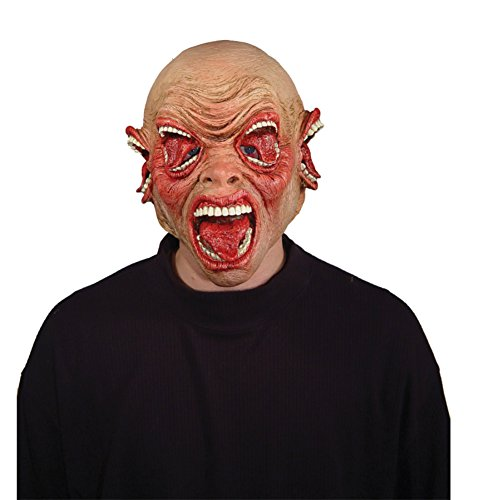 Cacophony Gnarly Gnasher Creepy Mouth Latex Adult Halloween Costume Mask
