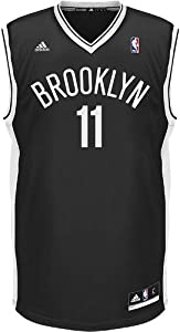 NBA adidas Brook Lopez Brooklyn Nets Revolution 30 Replica Performance Jersey - Black by adidas